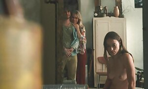 Gros cul Latin Brun obtient une bite film porno amateur français dure