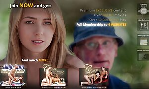 Busty film porno complet francais blonde chevauche un énorme gode